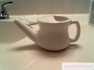 simple ceramic neti pot