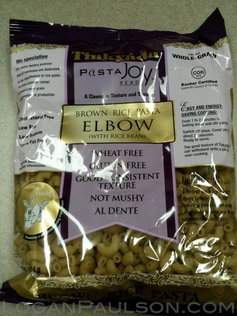 Tinkyada Brown Rice Pasta - Best Bet!