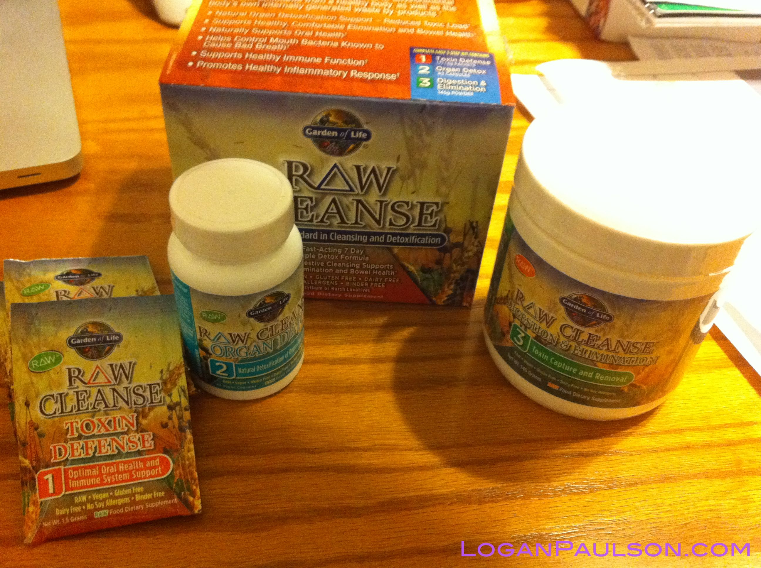 Garden Of Life   RAW Cleanse   3 Components
